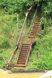 Staircase to the River. Stock Photography