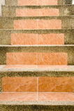 Staircase. To terrace at home Royalty Free Stock Photography