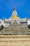 Staircase to top of pagoda Royalty Free Stock Image