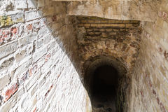 Staircase to a vaulted cellar Royalty Free Stock Photo
