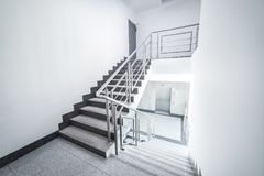Staircase - interior Royalty Free Stock Image