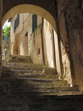 Staircase in Tuscany Royalty Free Stock Photos