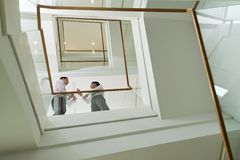 On the staircase Royalty Free Stock Images