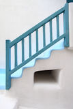 Staircase of typical house in Mykonos Royalty Free Stock Photo