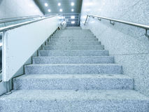 Staircase in underground passage Royalty Free Stock Photos