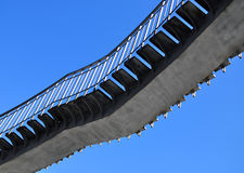 Staircase up the sky Royalty Free Stock Photo
