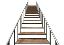 Staircase Upward Royalty Free Stock Photography