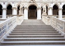 Staircase in Venice Royalty Free Stock Photo
