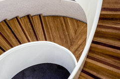 Staircase. View from a staircase taken from above Royalty Free Stock Images