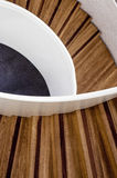 Staircase. View from a staircase taken from above Royalty Free Stock Image