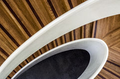 Staircase. View from a staircase taken from above Royalty Free Stock Photos