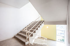 Staircase whit window Stock Photos