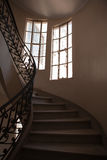 Staircase and windows Royalty Free Stock Photos