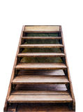 Staircase wooden to top success Royalty Free Stock Images