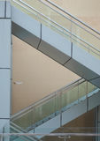 Staircases Forming Triangles Stock Photo