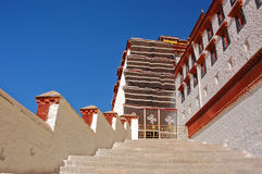 Staircases in Potala palace Stock Images