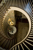 Stairs. At a catering hall Royalty Free Stock Images