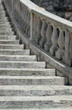 Stairs. Detail of a stairs in Korcula, Croatia royalty free stock image