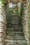 Stairs. This are old castle stairs Stock Photos