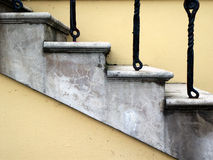 Stairs. Close up of concrete stairway royalty free stock images