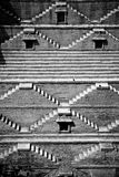 Stairs. Ancient construction in Jodhpur India Stock Photo