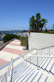 Stairs. At san diego conference center and harbor royalty free stock image