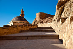 Stairs. Old Historical Castle Stairs and Mosque Stock Photos