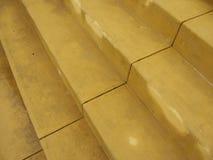 Stairs. Yellow stairs Stock Image
