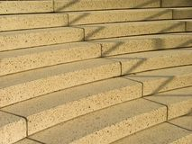 Stairs. Marble stairs during the golden hour royalty free stock images