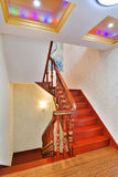 Stairs. In a chinese-style home Stock Photos