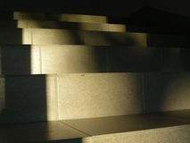 Stairs. On sunny evening royalty free stock images