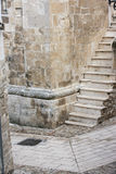 Stairs. Old stairs in the historic building Royalty Free Stock Photo