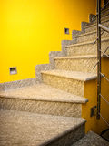 Stairs. Indoor stairs in a modern house Stock Images