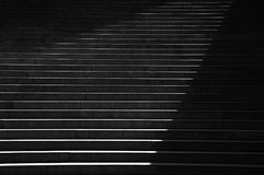 Stairs in abstract light Royalty Free Stock Images