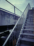 Stairs , across a freeway Stock Photos