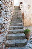 Stairs of Ancient Monastery Royalty Free Stock Photos