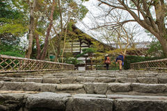 Free Stairs At Ryoanji Temple In Kyoto, Japan Royalty Free Stock Image - 40299726