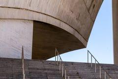 Stairs of the Auditorium. Auditorium of Santa Cruz de Tenerife in Spain Stock Photo