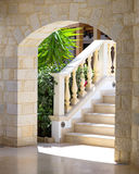 Stairs with balustrade Stock Photos