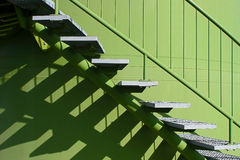 Stairs with balustrade Stock Photo