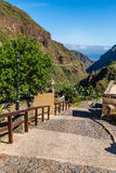 Stairs In Barranco de Guayadeque-Gran Canaria,Spain Royalty Free Stock Photos