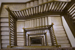 Stairs in the big building Royalty Free Stock Images