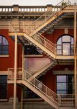 stairs on a building royalty free stock photos
