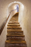 Stairs in Castle Kufstein - Austria Stock Images