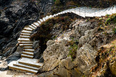 Stairs in Catalonia Stock Images