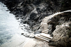 Stairs in Catalonia Royalty Free Stock Photos