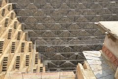 Stairs of Chand Baori Stock Image