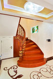 Stairs. In a chinese-style home Royalty Free Stock Images