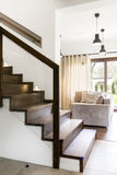 Stairs with class and style Stock Image