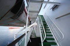 Cruise stairs Stock Image